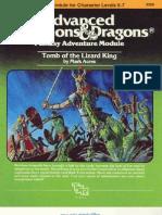 1st - (I2) Tomb of the Lizard King(Lvl5-7)
