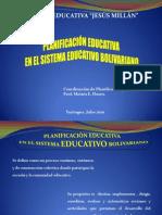 Taller Planificacion Educativa