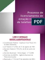 Processo de licenciamento