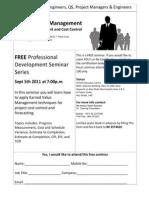 Seminar EVM Flyer