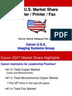 Canon 2006 Market Share Pres