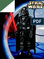 LEGO Darth Vader Technic Instruction Manual 8010