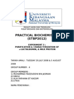 Biochemisry Report 3 by DENT