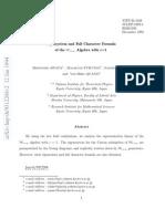 Hidetoshi Awata , Masafumi Fukuma , Satoru Odake and Yas-Hiro Quano-Eigensystem and Full Character Formula of the W1+∞ Algebra with c=1