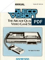 Colecovision System Manual