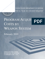 FY2011 Weapons