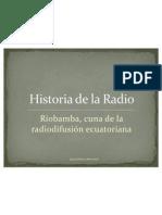 HISTORIA DE LA RADIODIFUSIÓN-RADIO EL PRADO