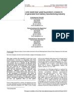 Biosorcion de Plomo Utiliznado Sacharomyhces