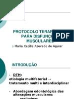 2005 PROTOCOLO TERAPÊUTICO PARA DISFUNÇÕES MUSCULARES