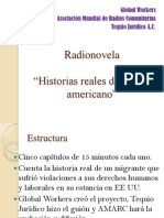 Presentación radionovela