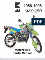 Kawasaki KMX 125-A12 Parts Manual