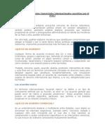 Acuerdos y Convenios Comer CIA Les Internacionales Suscritos Por El PERU