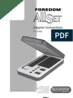 Foredom Allset Adapter Is