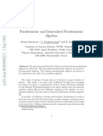Dennis Bonatsos, C. Daskaloyannis and K. Kanakoglou- Parafermionic and Generalized Parafermionic Algebras