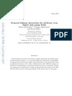 Ruben Manvelyan, Karapet Mkrtchyan and Werner Ruhl-General trilinear interaction for arbitrary even higher spin gauge fields