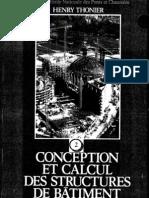 Conception Et Calcul Des Structures de Batiment - Tome 2
