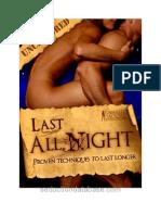 LAN Last All Night Volume 1
