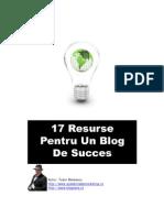 17 Resurse Pentru Un Blog de Succes