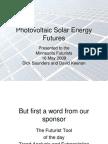 Photo Voltaic Solar Energy