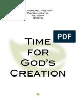 ECEN Booklet 'Time for God's Creation'