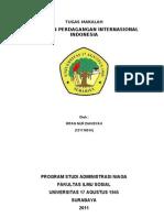 Kebijakan Perdagangan Internasional Indonesia