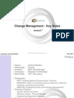 FLI_Hoi nghi PM 2011_Jerome Modolo_Change Management Keynotes