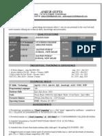 Ankur Gupta (Btech)-Resume