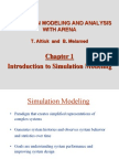 Chapter 1 - Introduction to Simulation Modeling