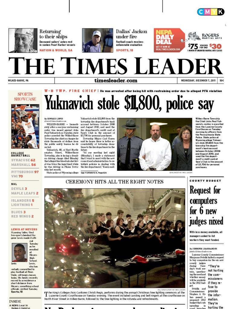 Barre Wilkes Times 12 Custody Leader 07 2011Child ChdxtsBQr