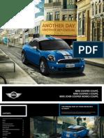 MINI Coupe Brochure