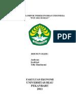 Tugas Kelompok Perekonomian Indonesia