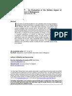 Welfare Impact Of Higher Energy Price_2005