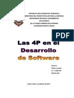 Trabajo Desarrollo de Software Pedro