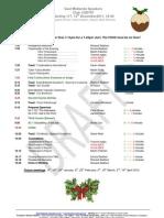 East Midlands Speakers Programme 117 12th December 2011 Christmas