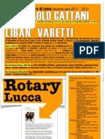2011-2012 -ROTARY di  Lucca e la nuova classe dirigente in LUCCA, Tosc-Calabria..