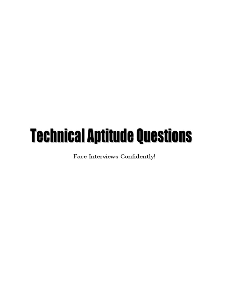 Technical aptitude questions ebook c programming language technical aptitude questions ebook c programming language pointer computer programming fandeluxe Images