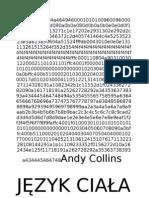 Collins Andy - Jezyk Ciala, Gestow i Zachowan