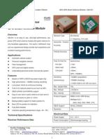 Gps Datasheet