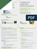 I Jornada MK Biotecnologico - Sevilla