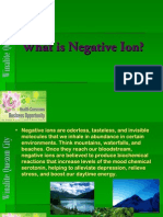 What is Negative Ion (ANION)-1
