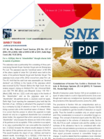 SNK Newsletter- October 2011