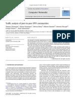 Traffic Analysis of Peer-To-peer IPTV Communities