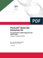 Purelink Quick Gel Extraction Kit Man
