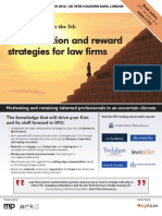 Remuneration and reward strategies for law firms