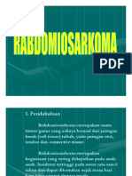 Patologi Anatomi Slide Rabdomiosarkoma