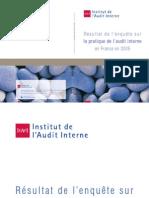 Enquete Audit Interne 2005