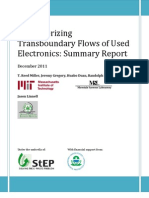 MIT E-Scrap Workshop Summary Report 2011