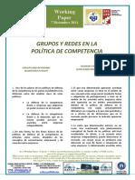 GRUPOS Y REDES EN LA POLÍTICA DE COMPETENCIA - GROUPS AND NETWORKS IN ANTITRUST POLICY (Spanish) - TALDEAK ETA SAREAK LEHIA BABESTEKO POLITIKAN (Espainieraz)