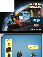 LEGO Jedi Duel Instruction Manual 7103