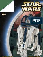 LEGO R2-D2 Technic Instruction Manual 8009